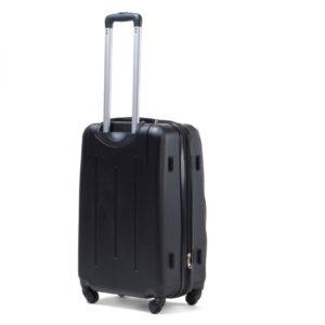 Suur reisikohver must (304-L)