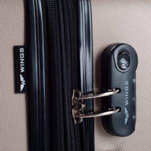 Reisikohver hõbe (304-M)