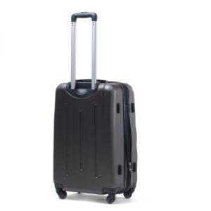 Reisikohver tumehall (304-M)