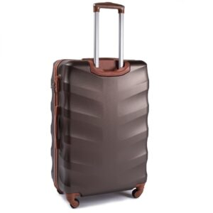 Suur reisikohver pruun (402-L)