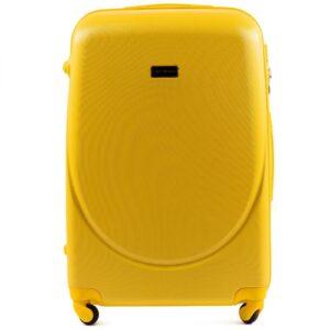Suur reisikohver kollane (K310-L)