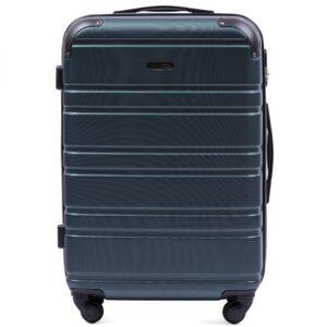 Suur reisikohver hõbe-sinine (608-M)
