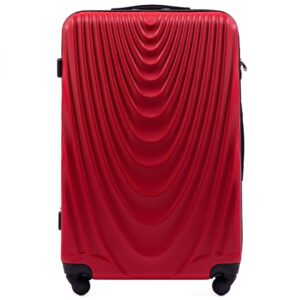 Suur reisikohver punane (304-L)