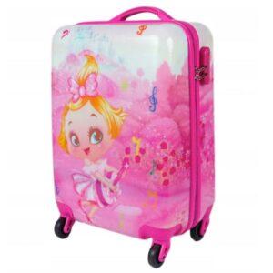 Laste reisikohver printsess
