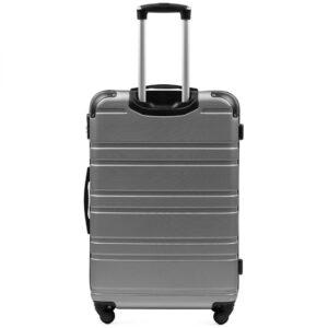 Suur reisikohver hõbe (608-L)