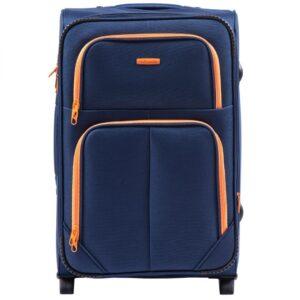 Suur reisikohver sinine (214-2-M)