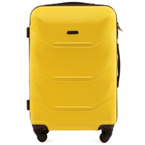 Keskmine reisikohver kollane (147-M)